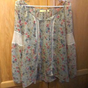 NWOT Vera Wang Large blouse